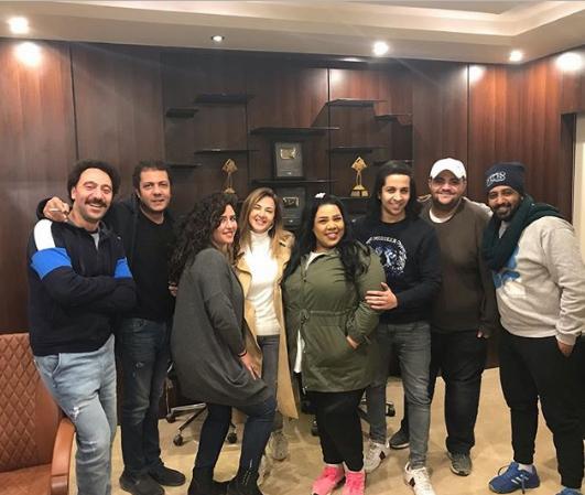 ابطال-مسلسل-دنيا-سمير-غانم-رمضان-2019