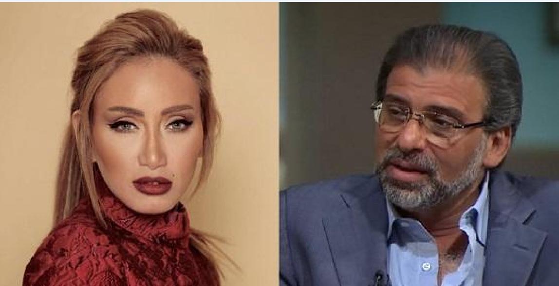 تعليق ريهام سعيد على فيديوهات خالد يوسف