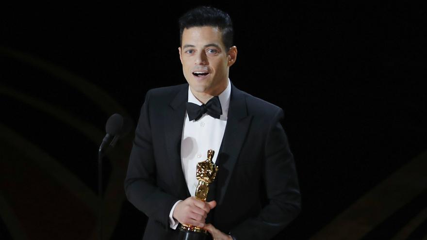 الممثل الأميركي المصري الأصل رامي مالك يفوز بجائزة أوسكار أفضل ممثل عن فيلم Bohemian Rhapsody