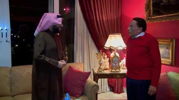 زيارة-تركي-آل-شيخ-لمنزل-عادل-إمام