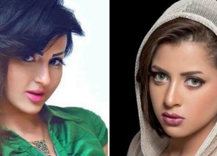 شيما الحاج ومنى فاروق