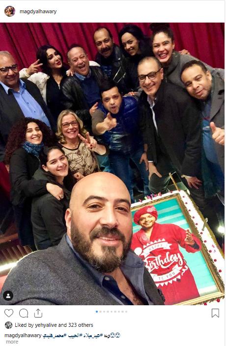 صور-عيد-ميلاد-محمد-هنيدي