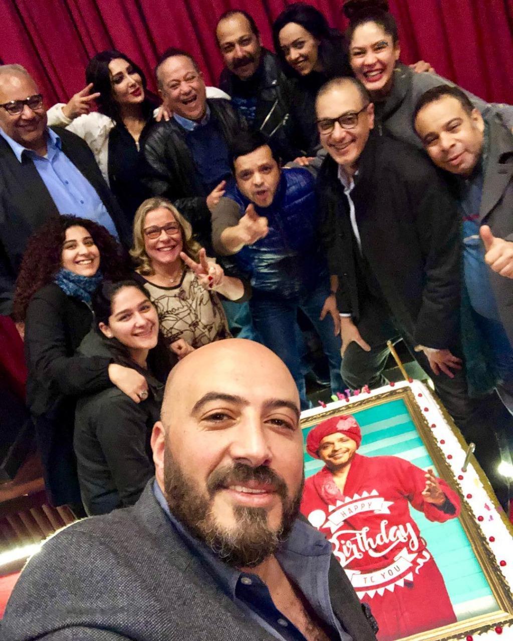 مجدى-الهوارى-فى-عيد-ميلاد-محمد-هنيدي