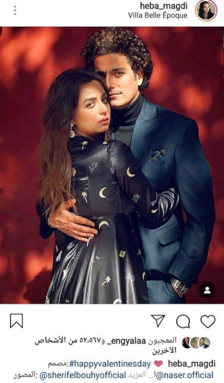 هبة-مجدي-وزوجها-محمد-محسن