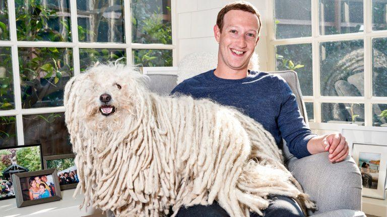 كلب مارك زوكربرج أبرم صفقة قيمتها 19 مليار دولار لشراء واتساب