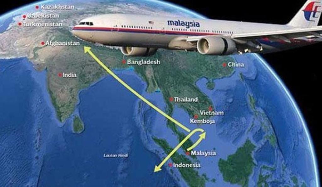 نظرية عشق مرعبة حول سقوط الطائرة الماليزية المنكوبة
