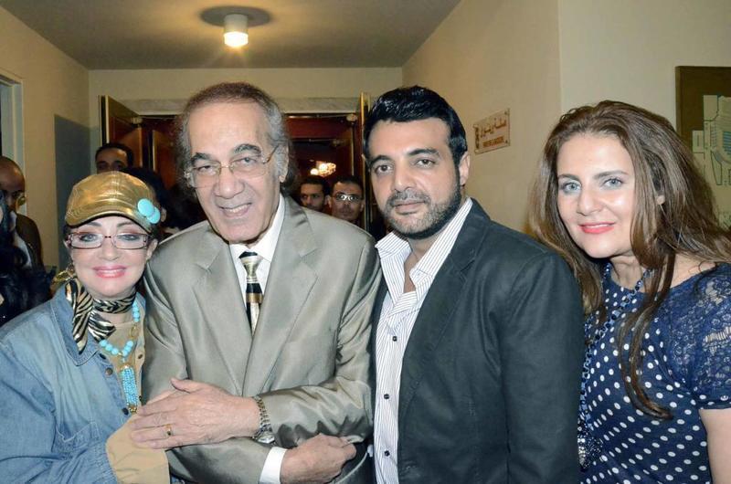 عائلة شهيرة ومحمود ياسين