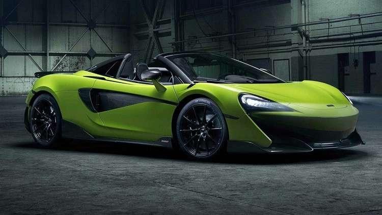 McLaren تكشف عن موعد طرح سيارتها الرياضية الجديدة