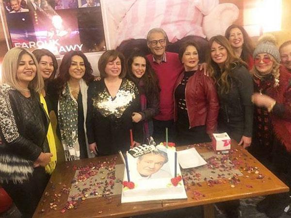 صورة عيد ميلاد فاروق الفيشاوي