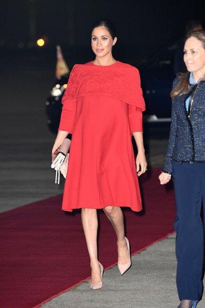 إطلالة ميغان ماركل في زيارتها للمغرب