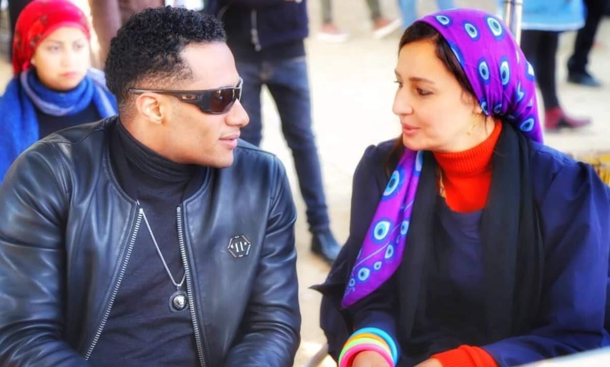 حلا شيحة مع محمد رمضان في مسلسل زلزال