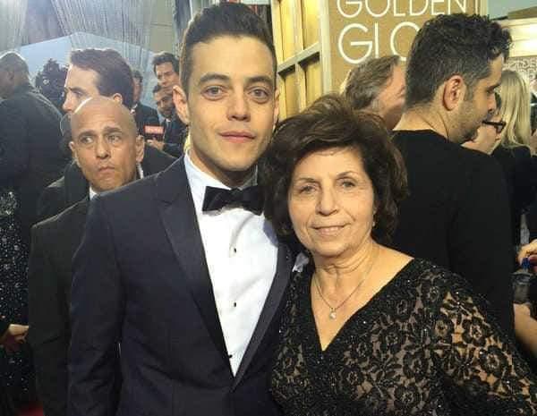 والدة رامي مالك