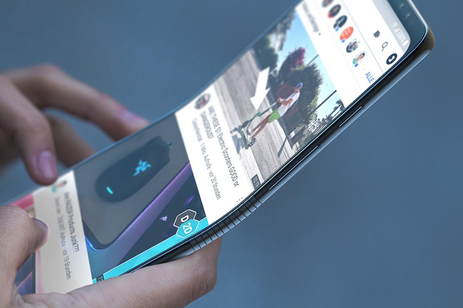 بالفيديو.. سامسونغ تعلن بالخطأ عن أول هاتف قابل للطي