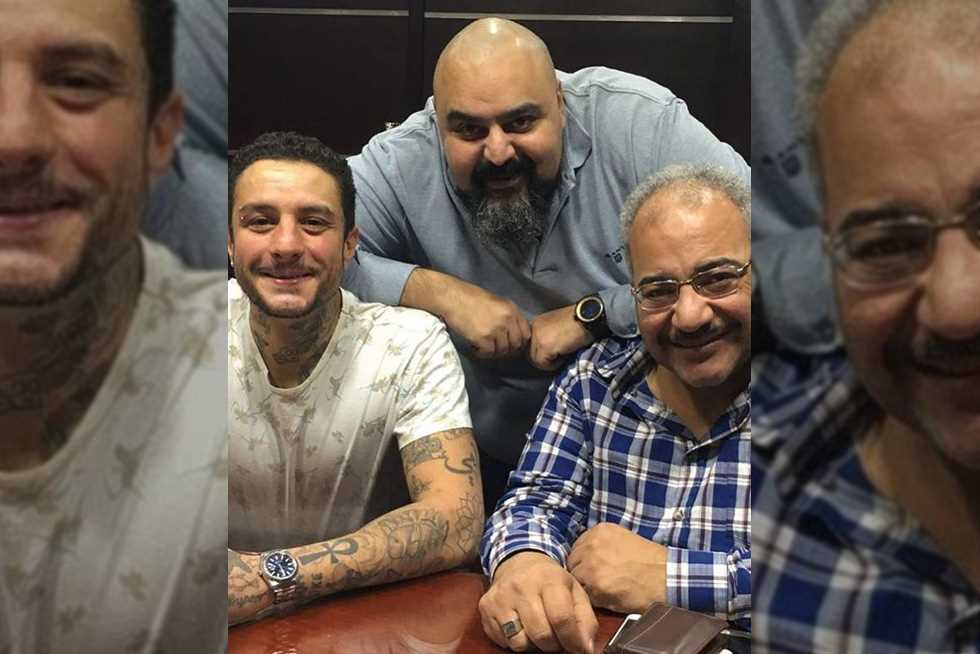 أحمد-الفيشاوي-ينشر-صورته-مع-شيكو-وبيومي-فؤاد