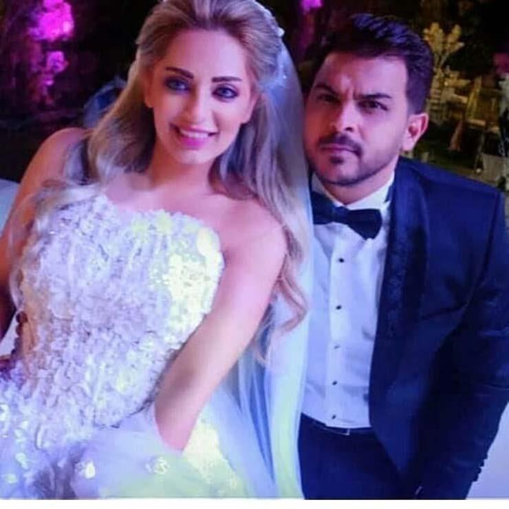 العروسين-في-حفل-الزفاف- (1)
