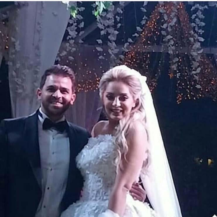 العروسين-في-حفل-الزفاف- (2)