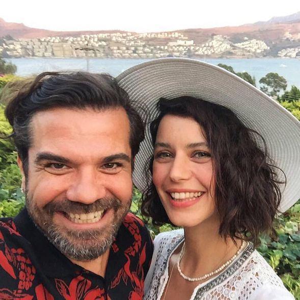بيرين سات وزوجها