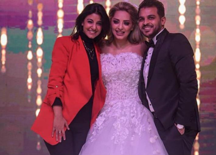 زواج-محمد-رشاد-ومي-حلمي