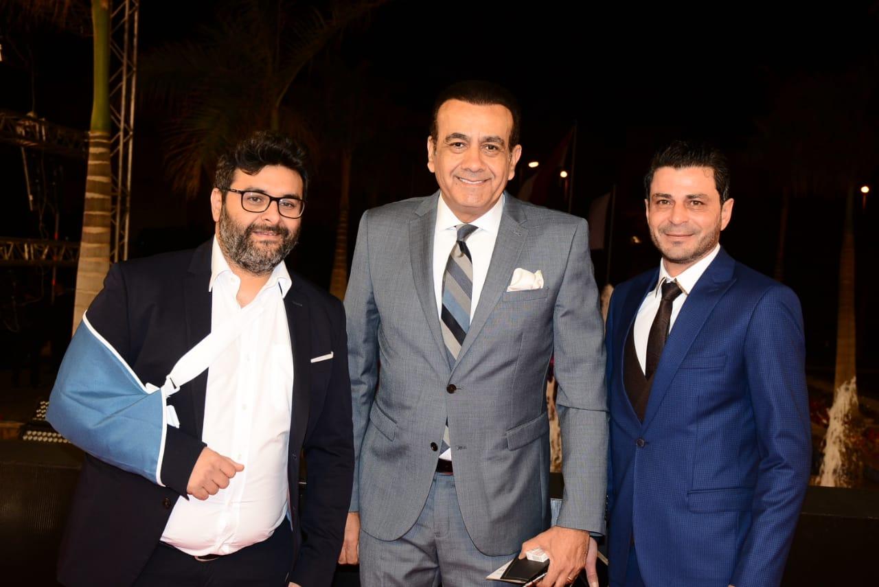 وليد-منصور-والاعلامي-اسامة-منير