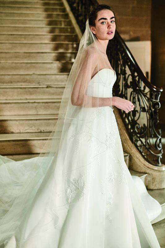 كارولينا هيريرا مجموعة أزياء الزفاف لربيع 2019