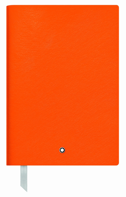 Montblanc Fine Stationery Notebook #146 Lucky Orange, lined