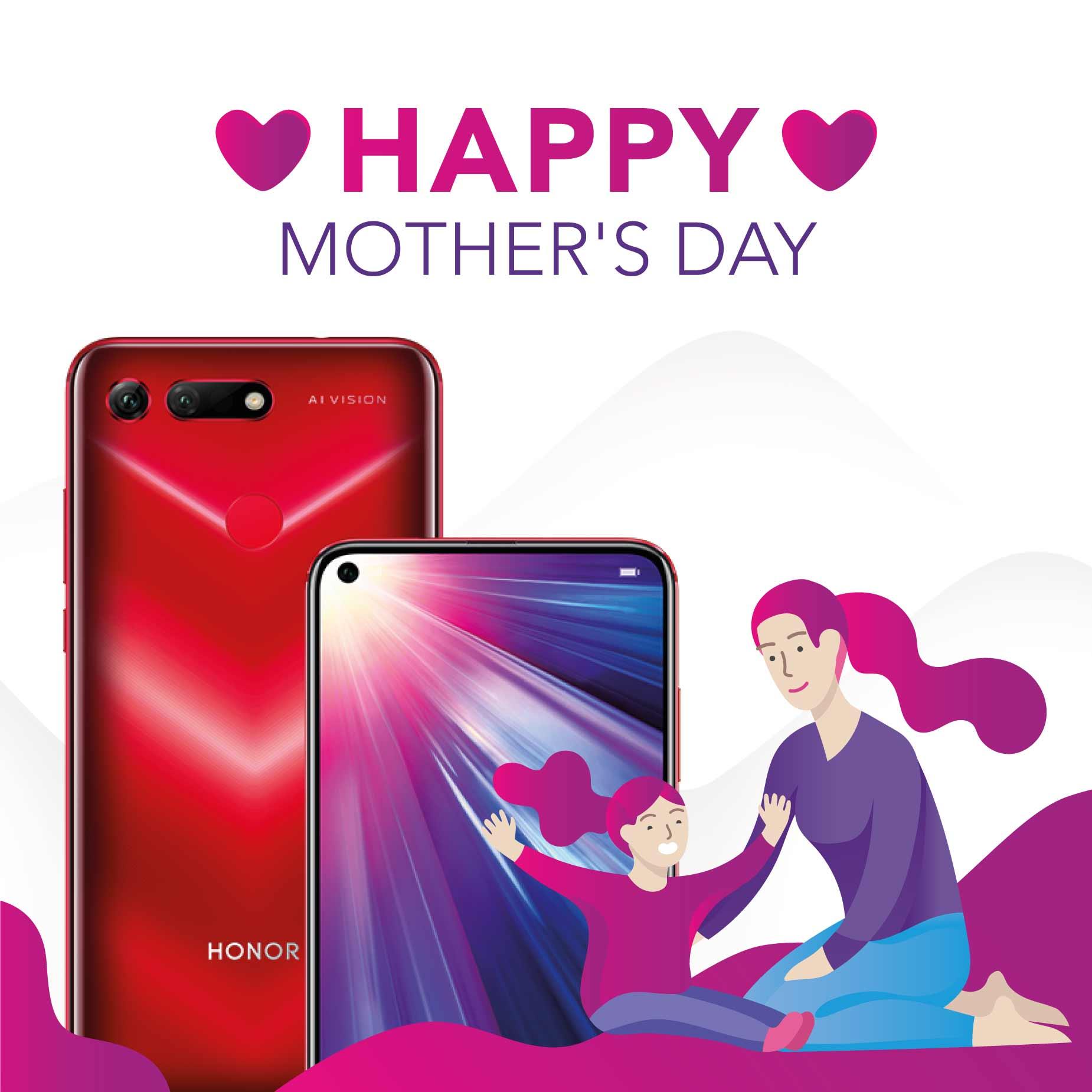 هدايا رائعة للأمهات في عيدهن...هواتف ذكية متفوقة من HONOR