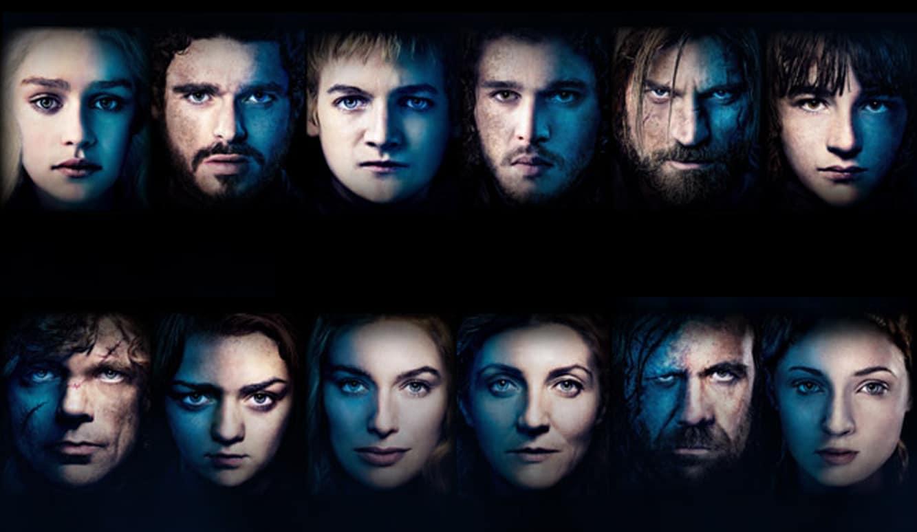 ابطال الجزء الثاني من مسلسل Game Of Thrones مشاهير