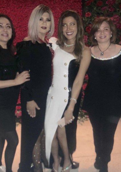 الهام-شاهين-من-زفاف-ريهام-حجاج