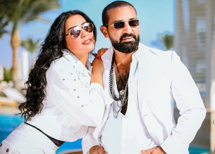 طلاق أحمد سعد وسمية الخشاب