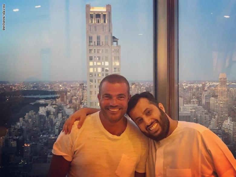 عمرو دياب وتركي ال شيخ