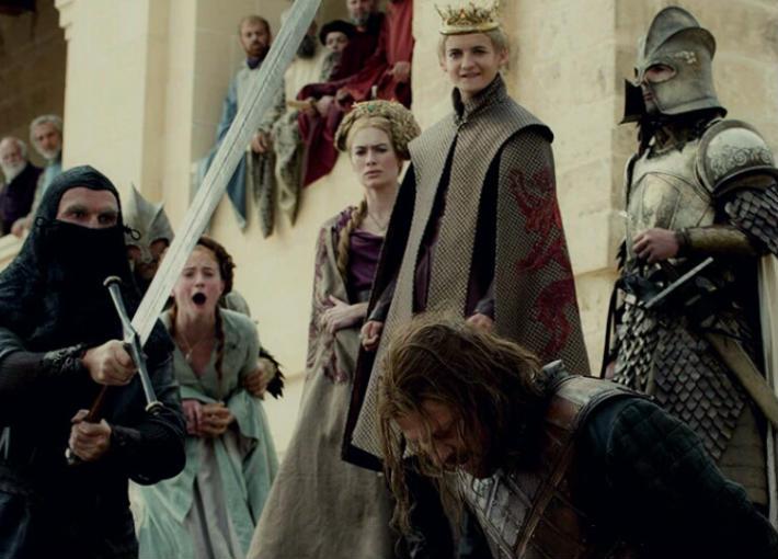 قصة الجزء الاول من مسلسل Game Of Thrones مشاهير