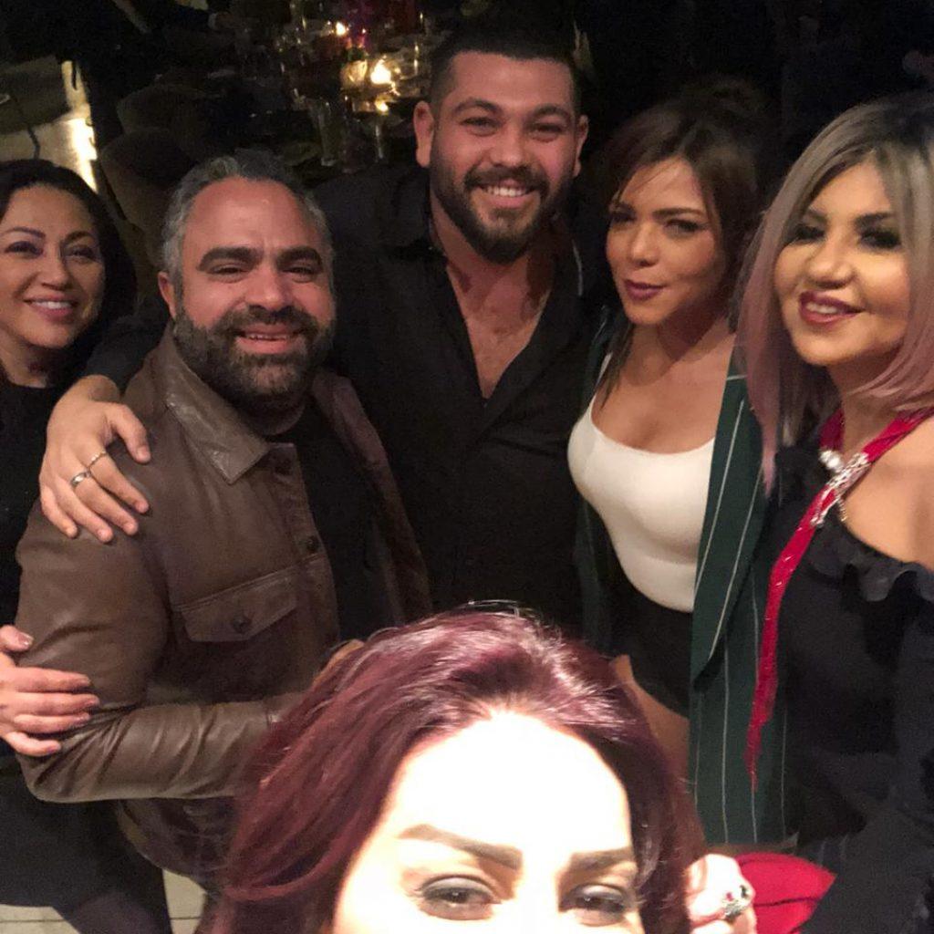نجوم-الفن-في-حفل-زفاف-ريهام-حجاج