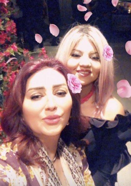 وفاء-عامر-من-زفاف-ريهام-حجاج