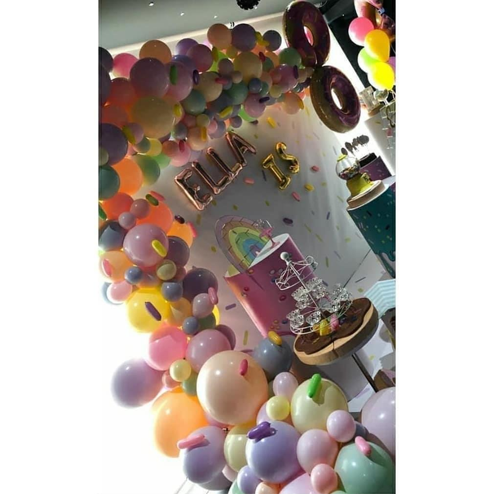 صور حفل عيد ميلاد ابنة نانسي عجرم