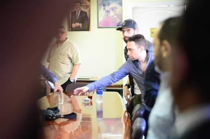 حسام حبيب يحضر التحقيق مع زوجته