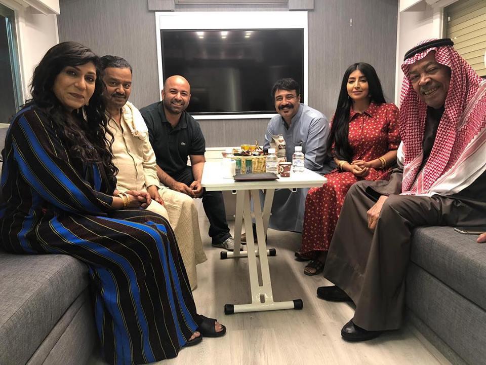 فريق العمل الخاص بالمسلسل الخليجي إفراج مشروط