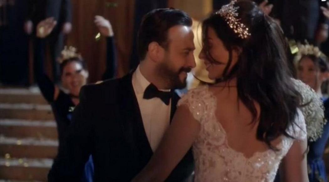 مشهد-زفاف-قصي-خولي-و-نادين-نجيم-في-مسلسل-خمسة-ونص- (3)