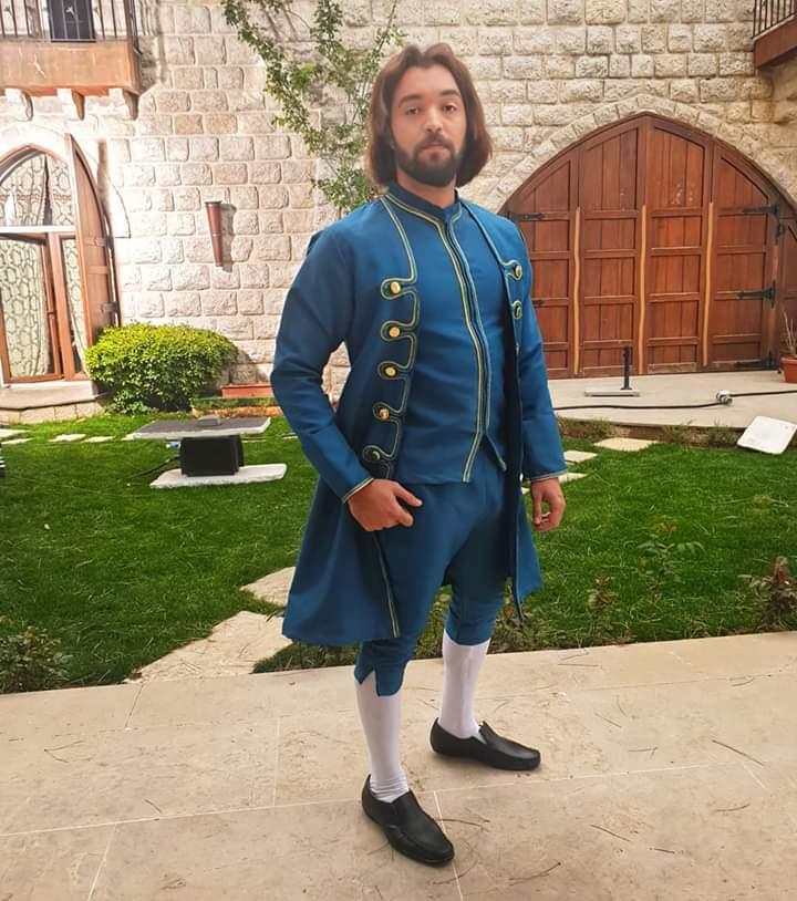 باسل الزوار في المسلسل التاريخي حرملك بشخصية مارتن