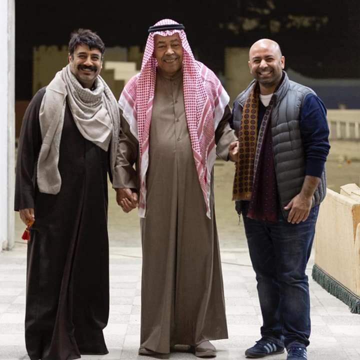سعد الفرج وخالد أمين من المسلسل الخليجي إفراج مشروط