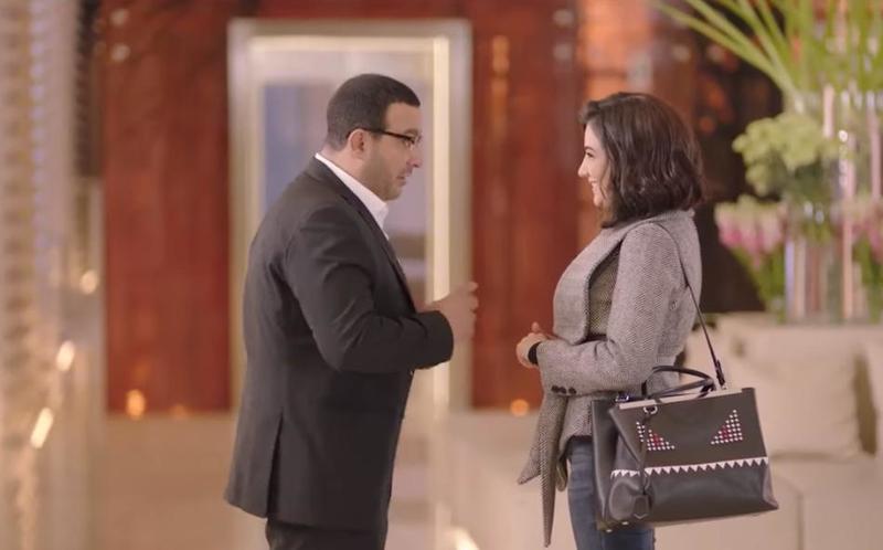أحمد السقا ومي عمر من مسلسل ولد الغلابة