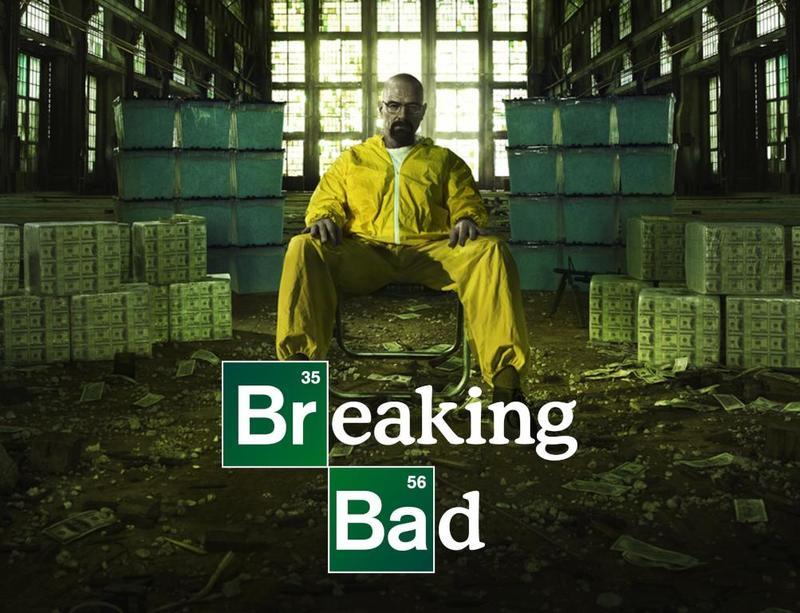 بوستر مسلسل Breaking Bad