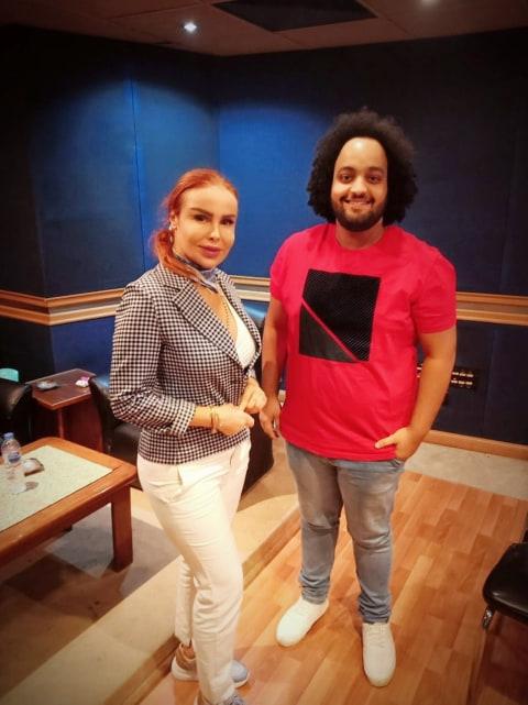 عمرو الخضرى ورولا سعد