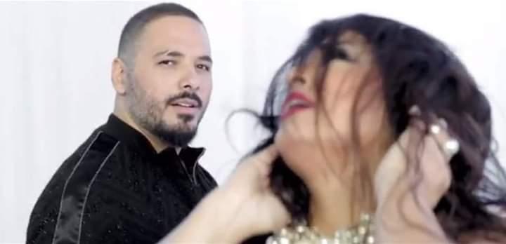 النجمة الإستعراضية فيفي عبده مع النجم اللبناني رامي عياش