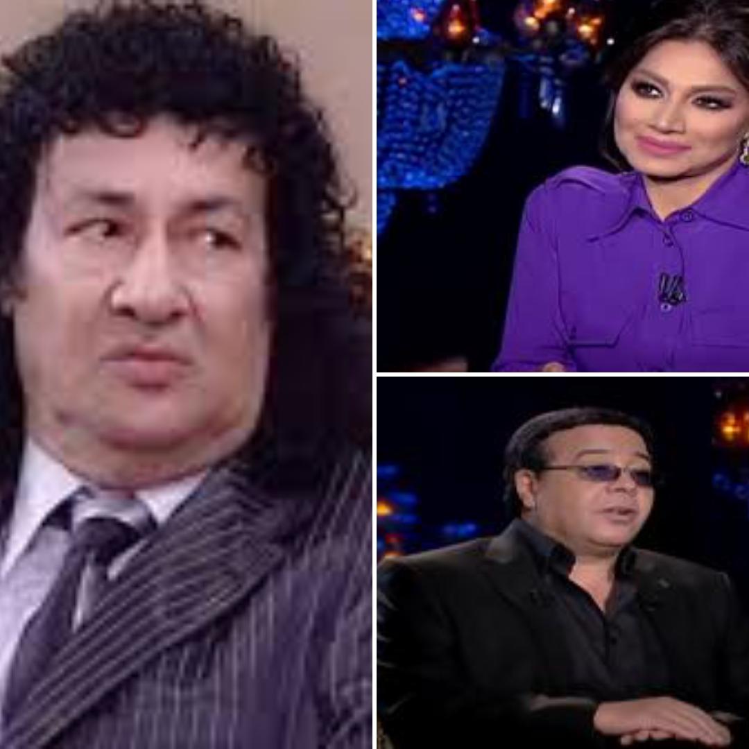 بسمة وهبة وأحمد أدم ومحمد نجم