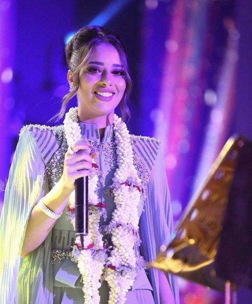 صور النجمة بلقيس فتحي من أحدث حفلاتها في المملكة العربية السعودية