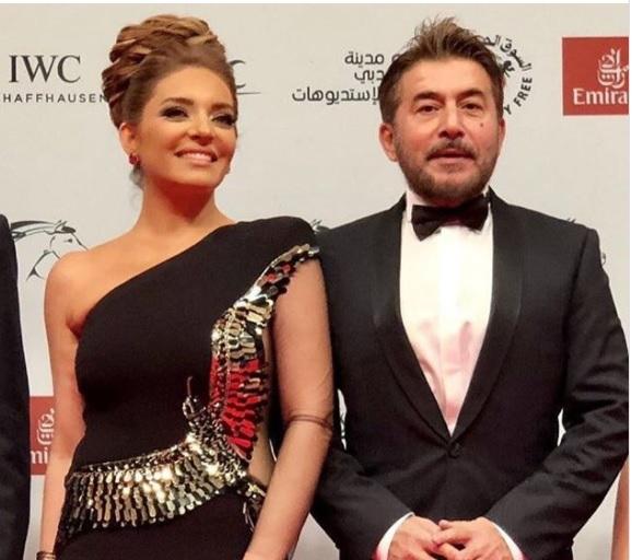 صور عابد فهد و زوجته