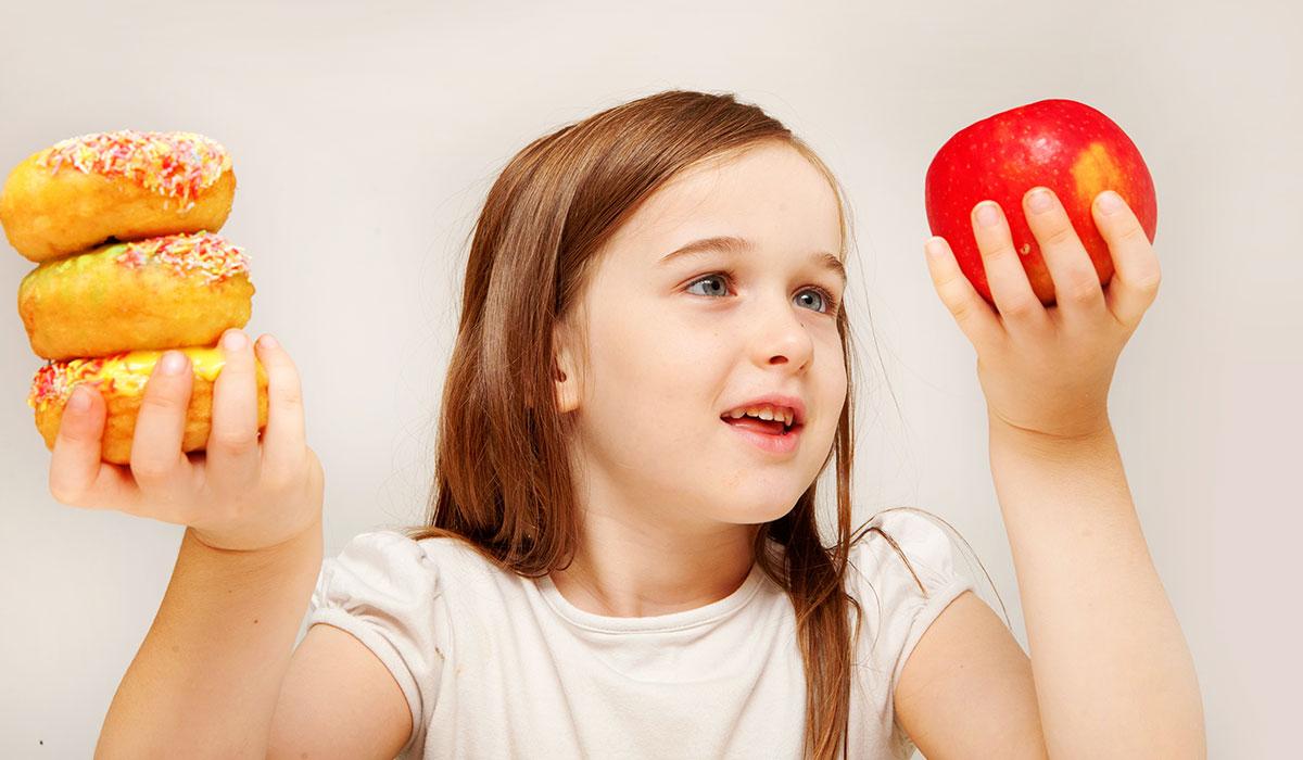الاعتماد على الطعام الصحي للتخلص من الوزن الزائد