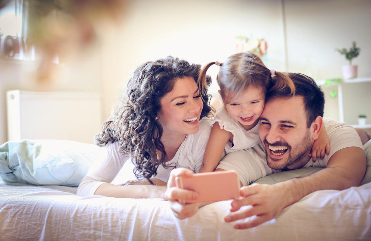 الترابط الأسري يمنح الأطفال شعورًا بالامان