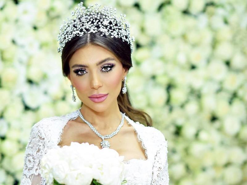 تاج فخم لعروس 2019