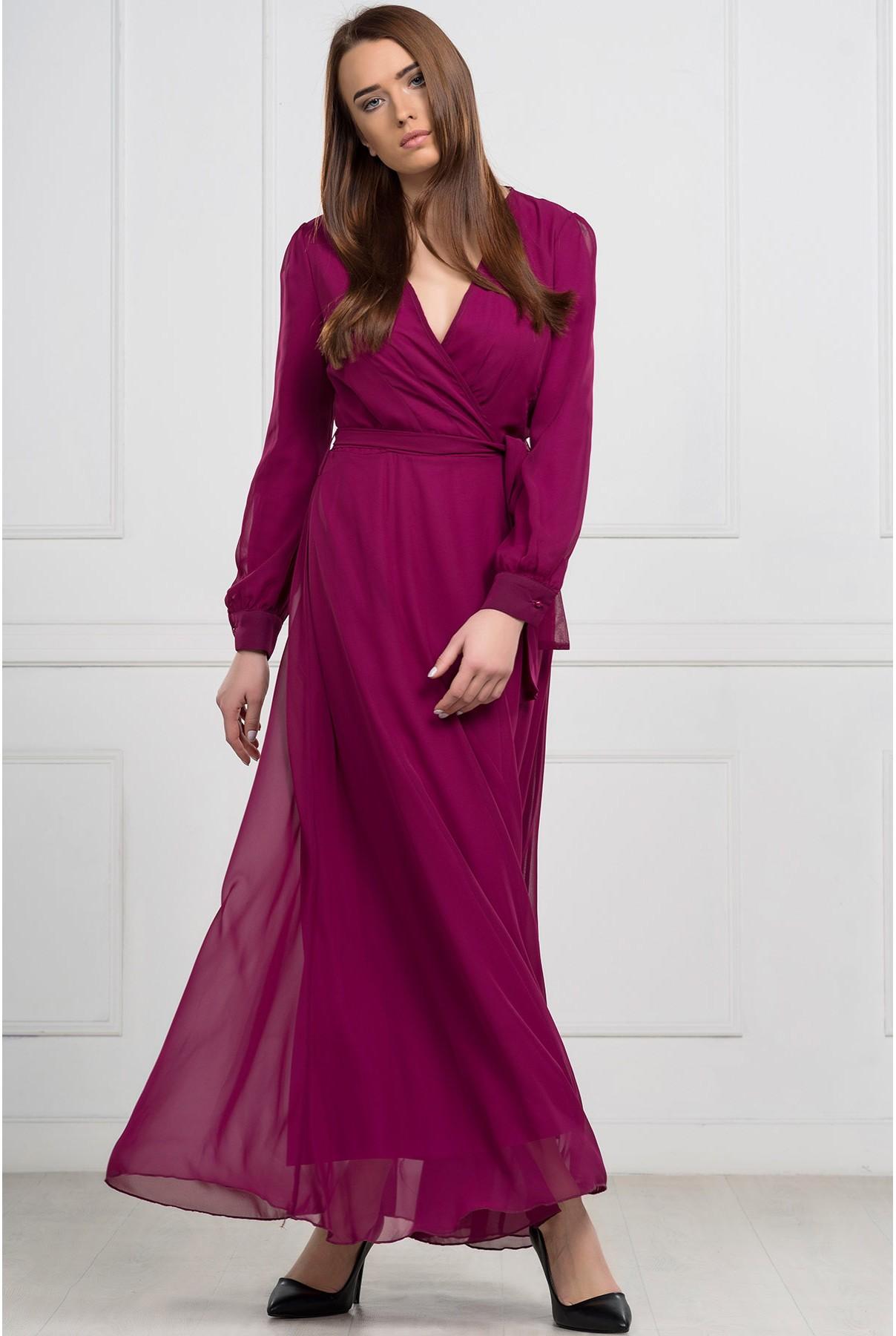 تصميم مميز لفستان تركي يناسب المحجبات